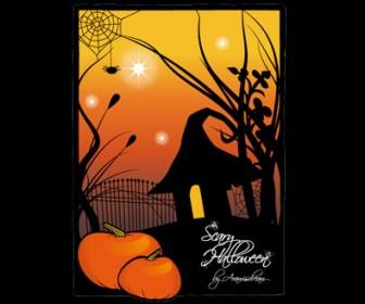 Pumpkin illustration free vector