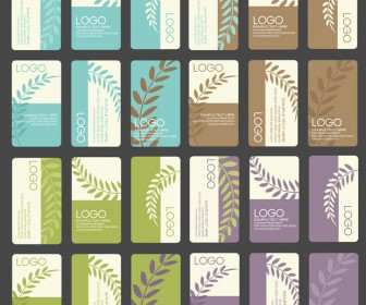 Business Card Designs Vector Background