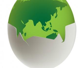 Environmental egg vector