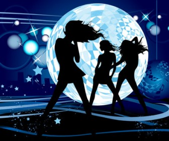 Girl Party illustration Vector