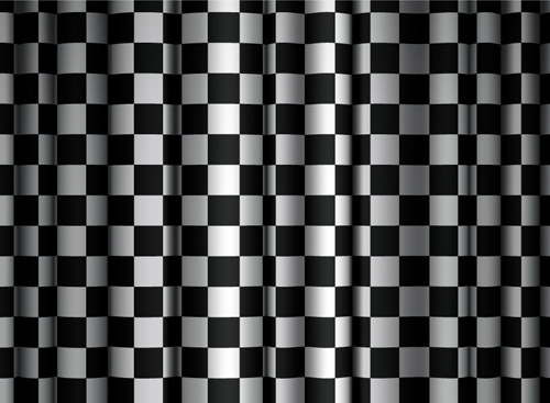 Checkered Curtain - Ai, Svg, Eps Vector Free Download
