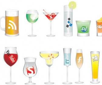Soft drink icons