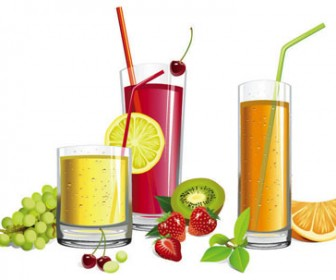 Juice vector illustration