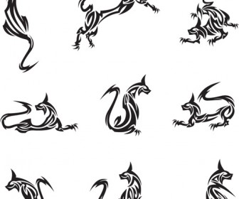Animal Tattoo Vector