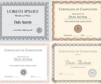 Vector Certificates