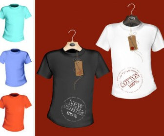 Vector t-shirt template illustration
