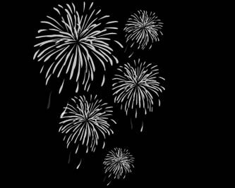 Vector Illustrations Fireworks