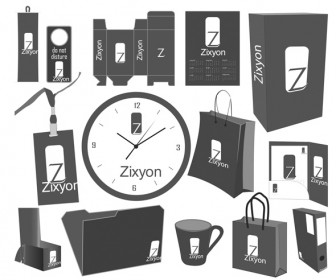 Office Products Pack Vector Illustration