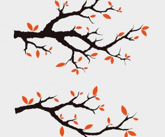 Free Vector Branches Illustration