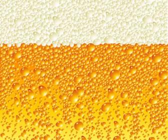 Beer Bubbles Vector Illustration