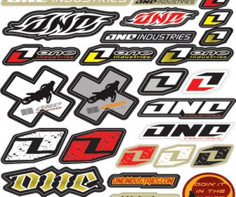 Auto Sticker Pack