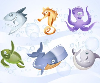 Marine Animal Vector