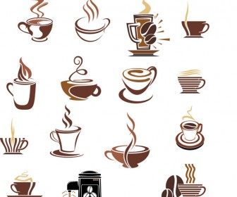Coffee Cup icons vector pack
