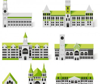 Vector building illustration