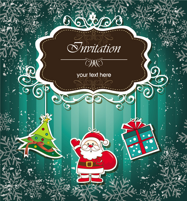 Christmas invitations vector elements ai svg eps vector free christmas invitations vector elements download link preview this vector stopboris Choice Image