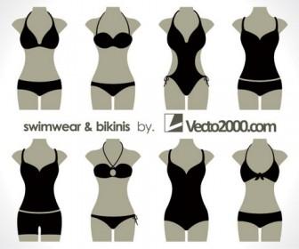 swimwear bikini illustration