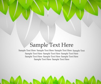 Green Leaf Template