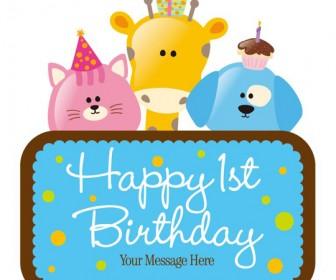 Vector Birthday Card