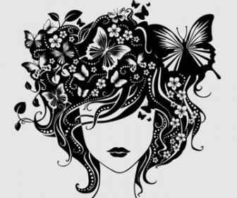 Illustration Beautiful girl
