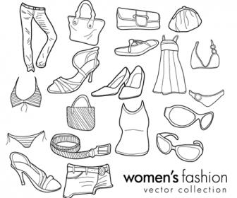 Women Fashion Doodle