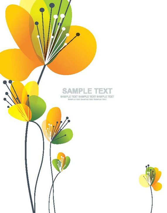 Card spring flower vector illustration ai svg eps vector free preview this vector mightylinksfo