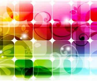 Colorful Rectangle Background