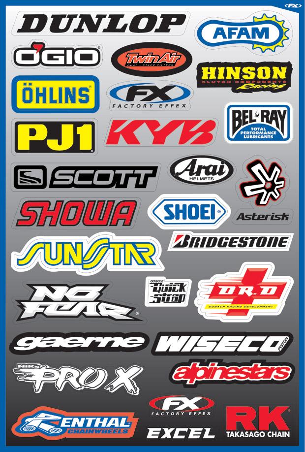 Auto Sticker Logo Vector Set - Ai, Svg, Eps Vector Free Download
