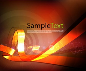 Abstract Retro vector background