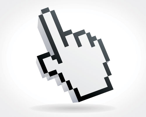 Mouse cursor vector