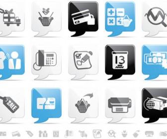 Free vector set icon
