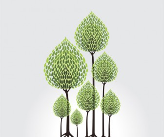 Tree illustration artwork
