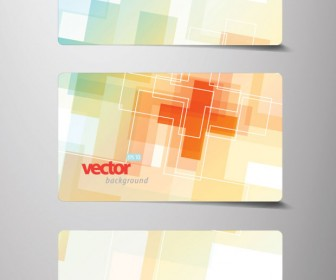 Business Card Cover Vector Set