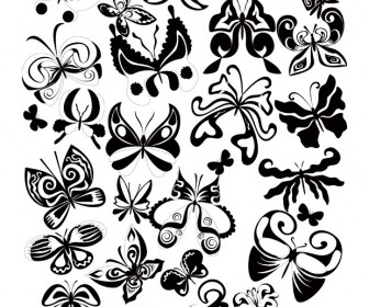 Butterflies Vector Decoration