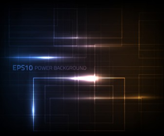 Abstract Light Power Background