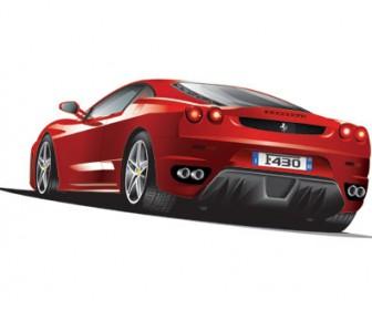 Vector Ferrari Illustrated