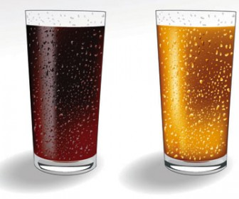Soft drink vector pack
