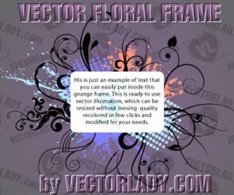 Floral Frame Artwork