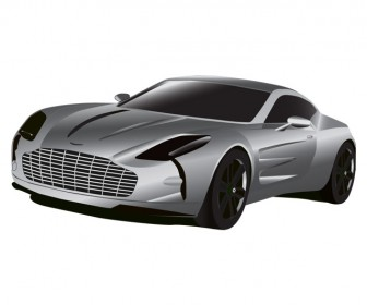 Aston Martin Car Illustration Vector
