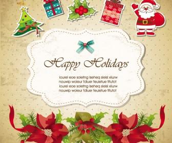 Christmas Invitations Design Elements
