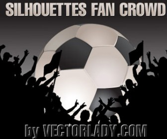 Football Crowd Silhouettes