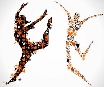 Vector Illustration Gymnast