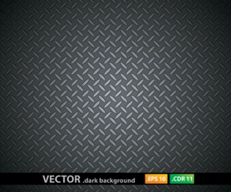 Metal Pattern Dark Background