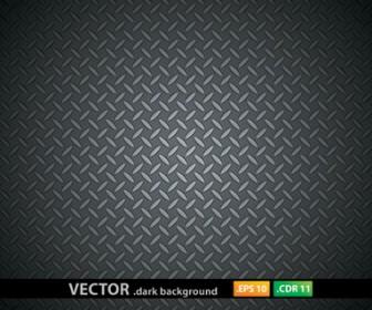 Metal Pattern Dark Background