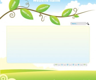 Nature Web Template