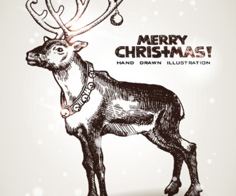 Christmas Deer Greeting Cards
