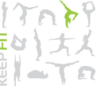 Keep Fit Sport Vector Pack