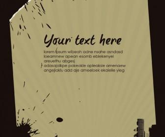 Flyer City Illustration Template