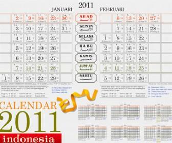 Calendar 2011 Vector