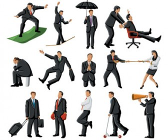 Vector illustration Business People
