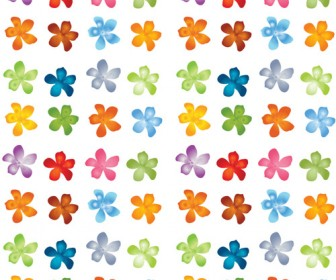 Flower Pattern Vector Pack